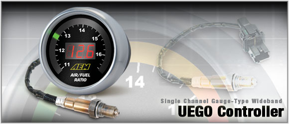 AEM Digital Wideband Air/Fuel Gauge UEGO Controller