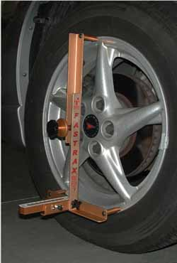 "SPC FasTrax 13""-18"" Camber/Caster Gauge with Toe and No Lip Adaptors"