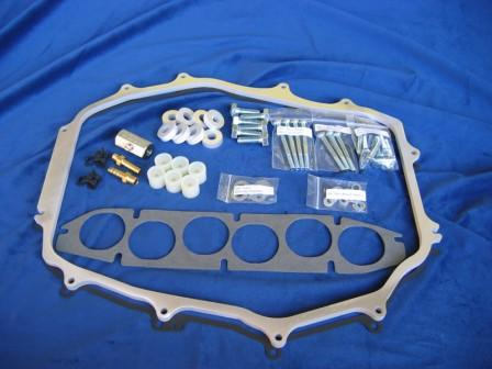 "Motordyne 1/2"" ISO-Thermal Plenum Spacer Nissan 350Z G35 M35 FX35"