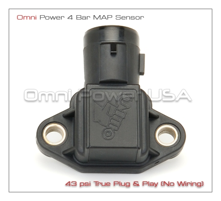 OMNI-Power Honda/Acura Plug and Play 4 Bar MAP Sensor