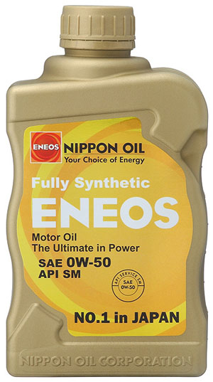 Eneos 0W-50 Fully Synthetic Motor Oil