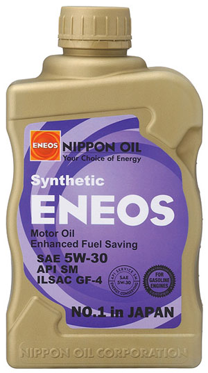 Eneos 5W-30 Semi-Synthetic Motor Oil - Import Auto Performance