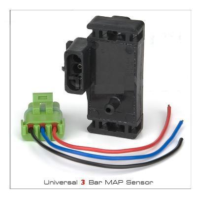 Universal GM Style 3 Bar MAP Sensor with Pigtail MADE IN THE USA!