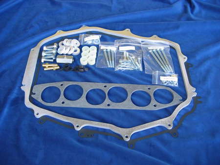 "Motordyne 5/16"" ISO-Thermal Plenum Spacer Nissan 350Z G35 M35 FX 35"
