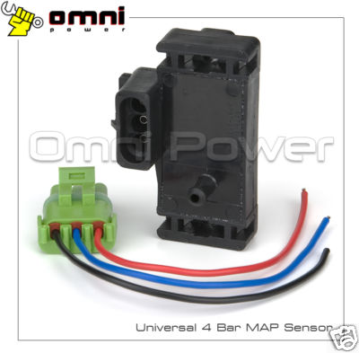 OMNI-Power GM Style 4 Bar MAP Sensor with Pigtail